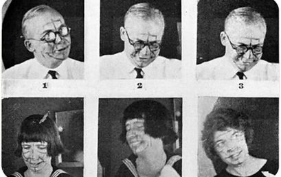 Эксперименты Лэндиса: спонтанные выражения лиц и подчинённость